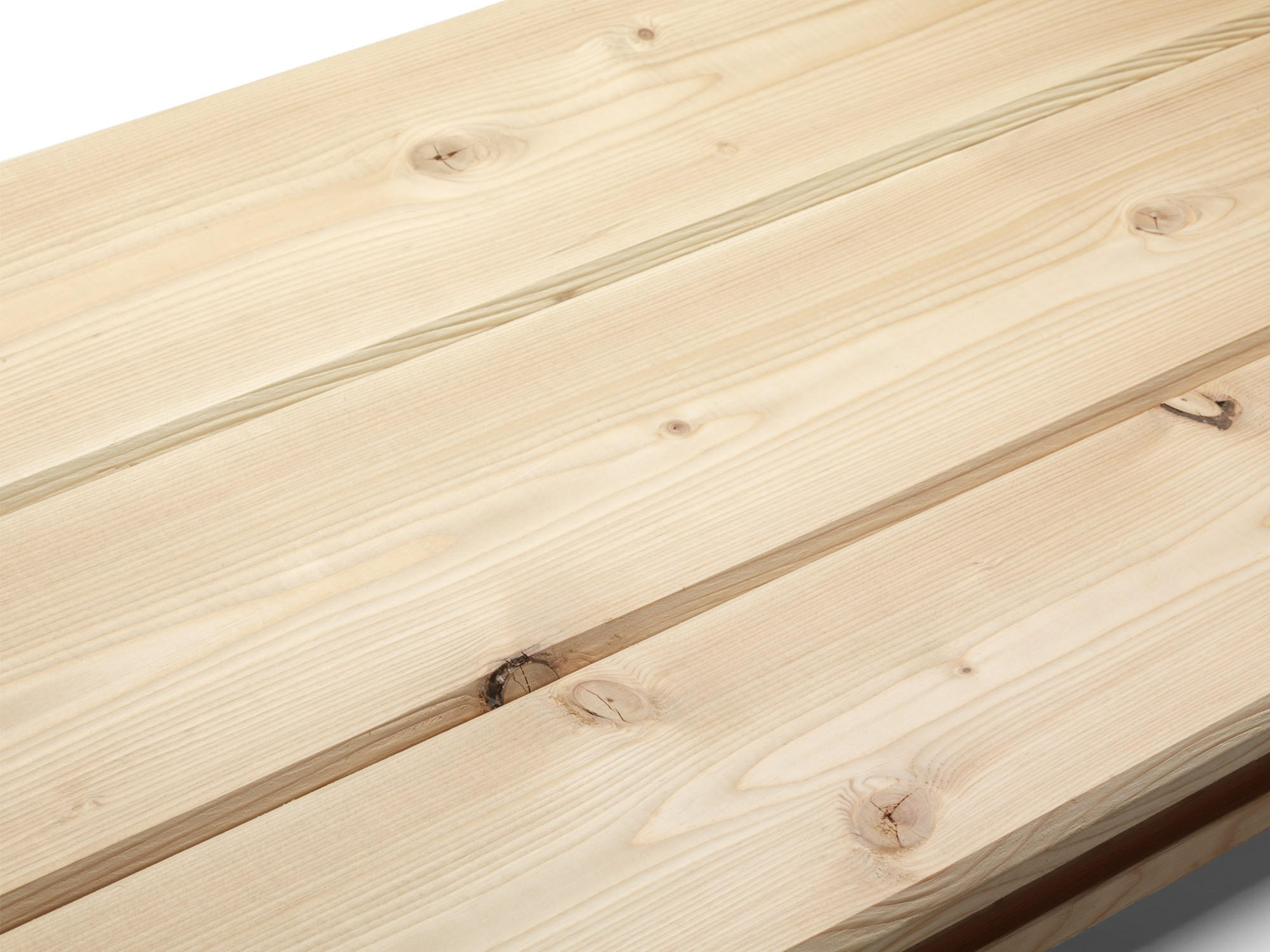 1x6 Knotty Douglas Fir Paneling with V-groove